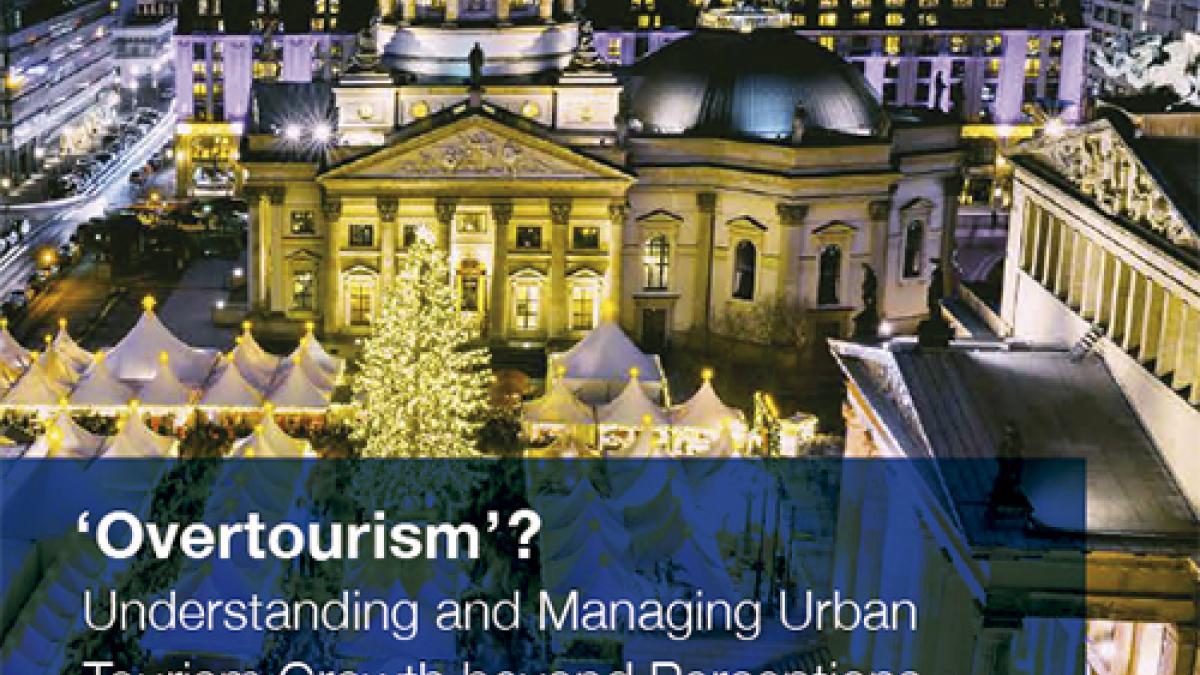 ¿«Presión turística»? Un nuevo informe de la OMT ofrece estudios de caso para hacer frente a los problemas