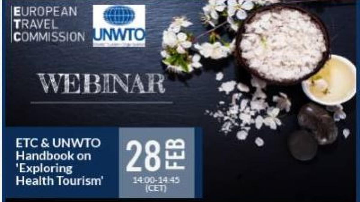 UNWTO and ETC Webinar on exploring health tourism