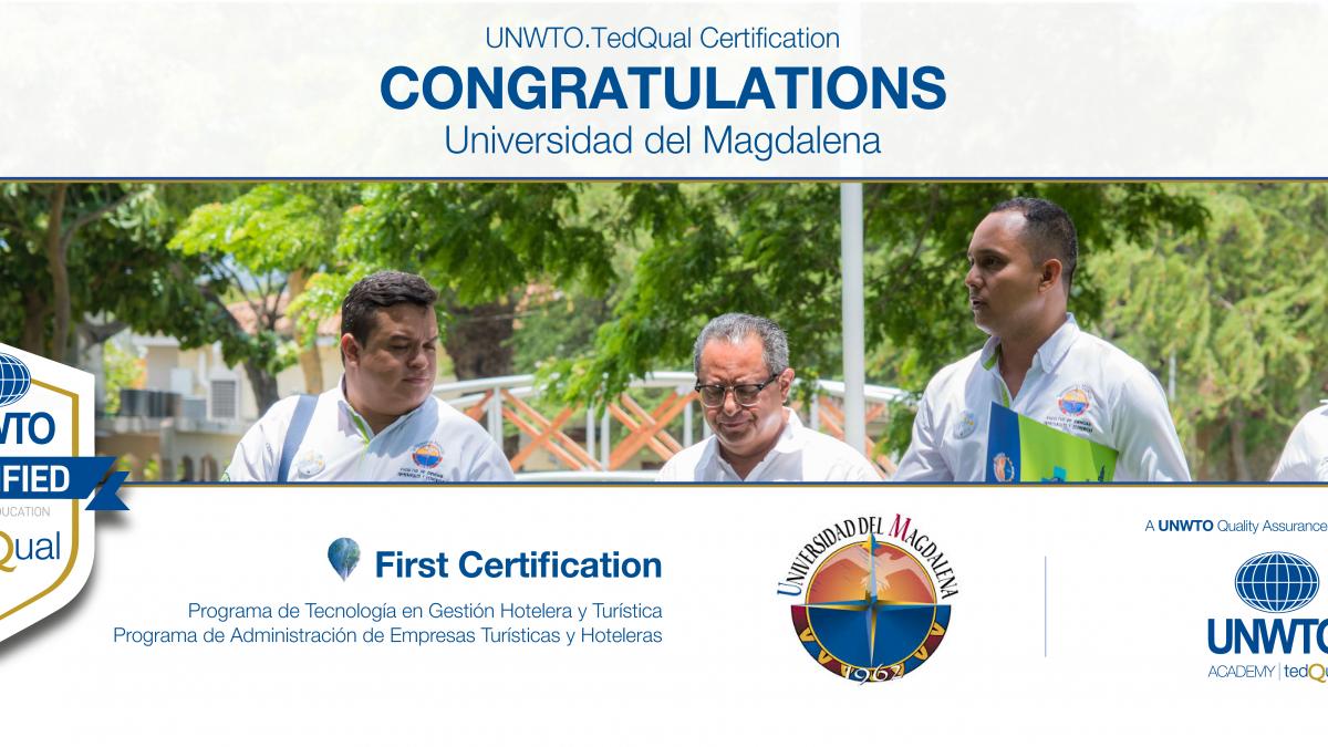 UNWTO.TedQual Certification - Universidad del Magdalena