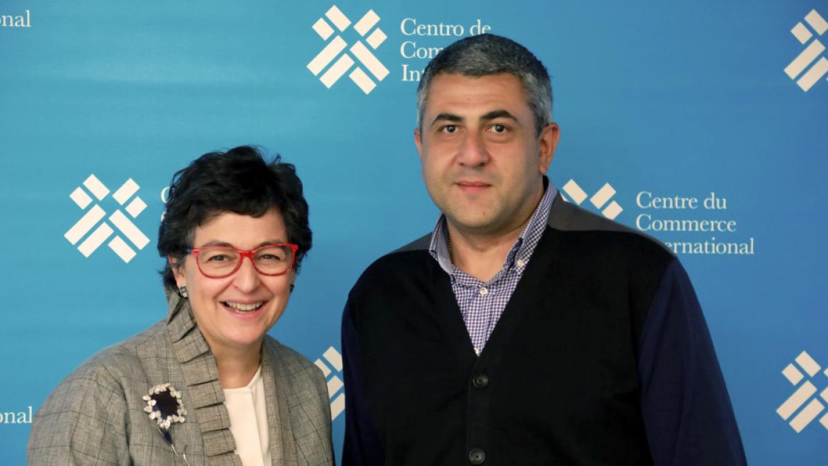 UNWTO Secretary-General Mr Zurab Pololikashvili meets ITC Executive Director, Ms Arancha González