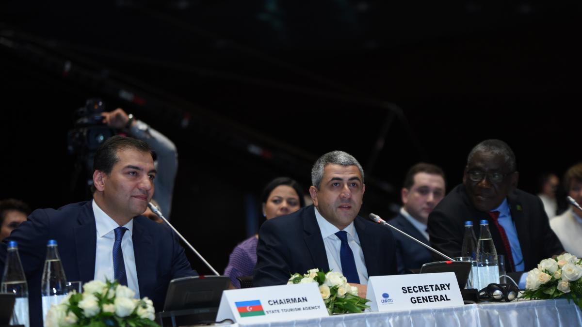 Le tourisme : Une force mondiale au service de la croissance et du développement - Réunion du Conseil exécutif de l'OMT à Bakou