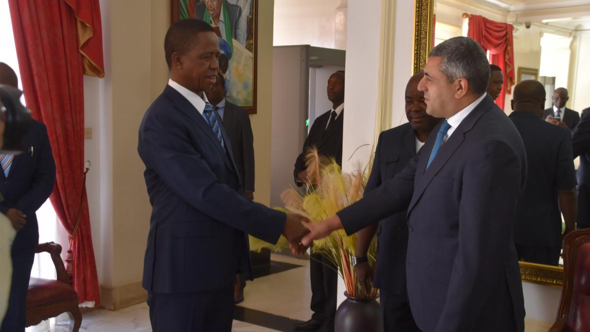 Visita oficial del Secretario General de la OMT a Zambia