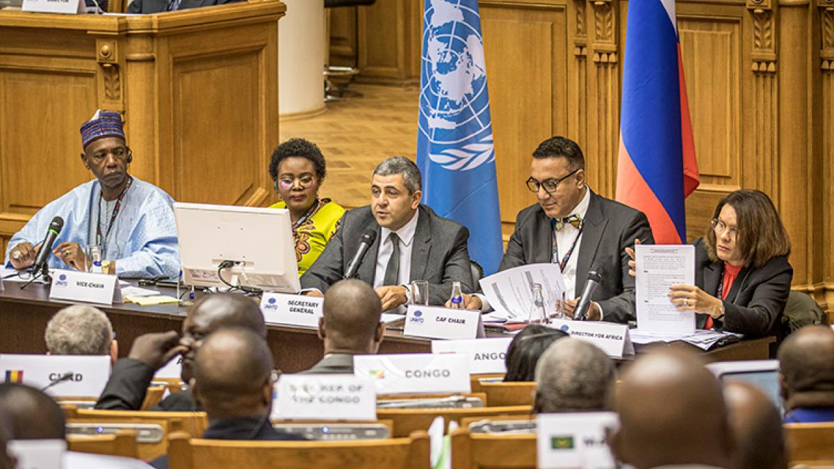 African Tourism Leaders Meet in Saint Petersburg to Plot Future Growth of Continent's Tourism Sector