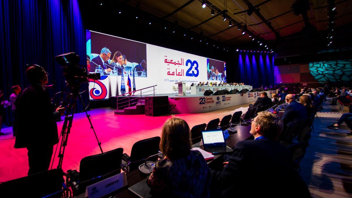Ouverture de l'Assemblée générale de l'Organisation mondiale du tourisme : durabilité et innovation en tête de l'ordre du jour