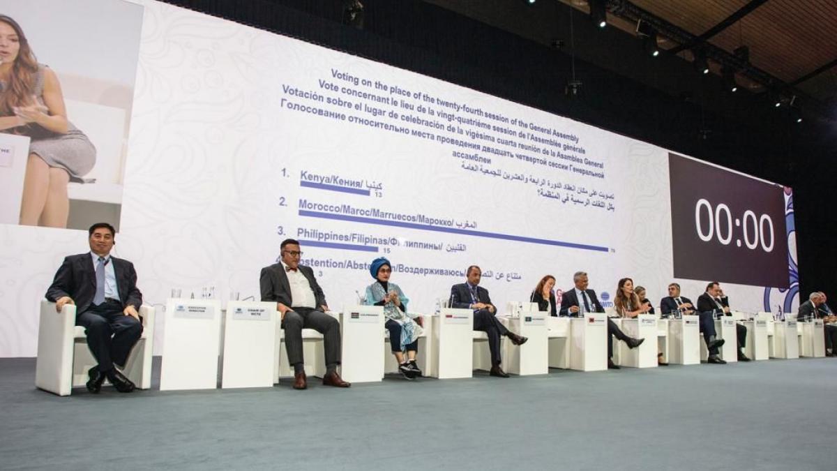 El Reino de Marruecos gana la votación de alto nivel para acoger la próxima Asamblea General de la Organización Mundial del Turismo
